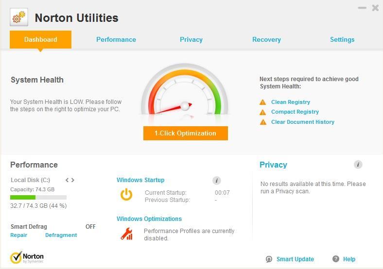 Symantec Norton Utilities 17.0.7.7 Crack + Activation Code Download