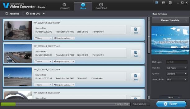 Wondershare Video Converter Ultimate 12.5.6.12 Crack Download