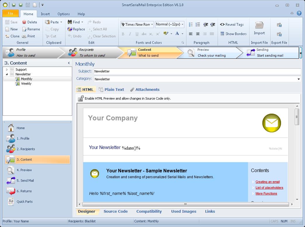 Get Bulk Mailer 10.4 Crack