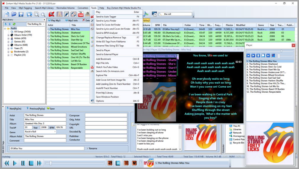 Zortam Mp3 Media Studio Pro 28.50 Crack